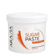 """Сахарная паста для депиляции """"Натуральная"""" мягкой консистенции - Aravia Professional 750 гр"""