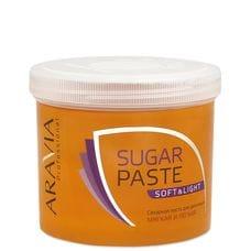 """Сахарная паста для депиляции """"Мягкая и легкая"""" мягкой консистенции - Aravia Professional 750 гр"""