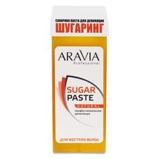 """Сахарная паста для депиляции в картридже """"Натуральная"""" мягкой консистенции - Aravia Professional 150 гр"""