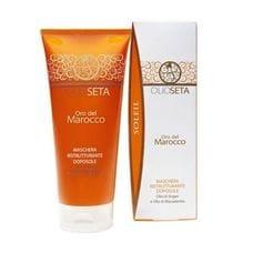 Восстанавливающая маска для волос после загара - Barex Italiana Olioseta Oro Del Marocco Sun 200 мл
