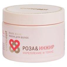 Маска для волос «Роза&Инжир» укрепление и тонус - Concept Power&tonus hair mask s.p.a. hair 350 мл