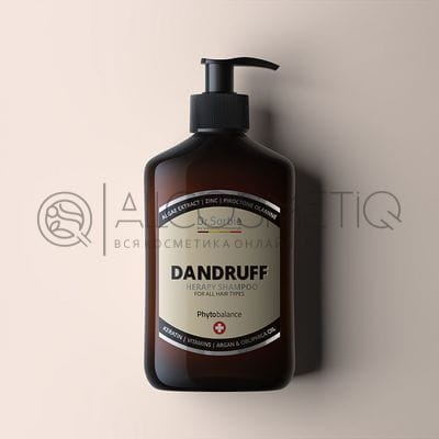 Фитошампунь от перхоти - Dr.Sorbie Dandruff Shampoo 400 мл