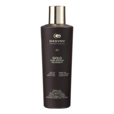 Голд кератиновый крем для выпрямления волос с частицами золота - Gold hair keratin treatment 500 мл