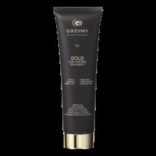 Голд кератиновый крем для выпрямления волос с частицами золота - Gold hair keratin treatment 100 мл