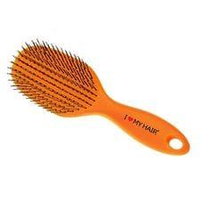 Щетка массажная - I Love My Hair SPIDER оранжевая глянцевая L