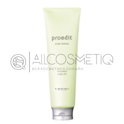 Маска для кудрявых волос - Lebel Proedit Care Works Curl Fit Treatment 250 мл
