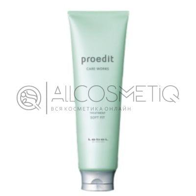 Маска для жестких и непослушных волос - Lebel Proedit Care Works Soft Fit Treatment 250 мл