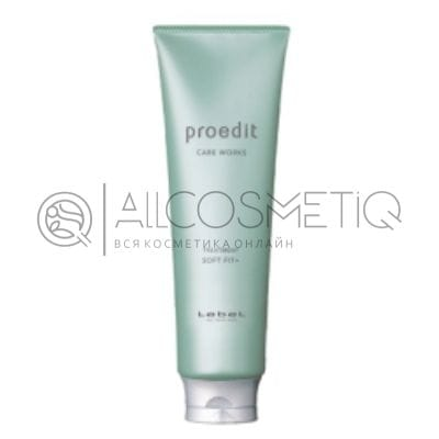 Маска для жестких, непослушных/очень поврежденных волос - Lebel Proedit Care Works Soft Fit Plus Treatment 250 мл