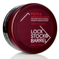 Первоклассный Груминг-крем для создания гибкой текстуры и объема - Lock Stock & Barrel Pucka Grooming Creme 100 гр
