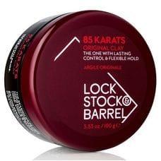 Глина «85 КАРАТ» для моделирования волос с матовым эффектом - Lock Stock & Barrel 85 Karats Shaping Clay 100 гр