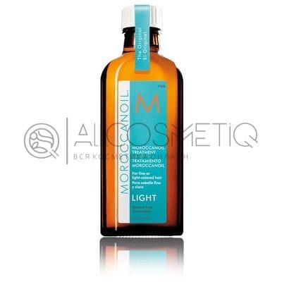 Масло восстанавливающее для тонких светлых волос - Moroccanoil Light Treatment for blond or fine hair 100 мл