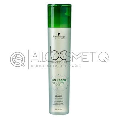 Шампунь мицеллярный - Bonacure Collagen Volume Boost Schwarzkopf 250 мл