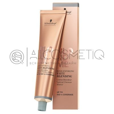Осветляющий бондинг-крем для седых волос песок - BlondMe white blending sand Schwarzkopf 60 мл