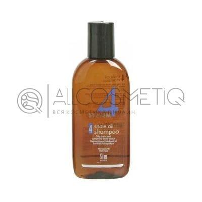 Терапевтический шампунь № 4 для очень жирной, чувствительной и раздраженной кожи головы - Sim Sensitive System 4 Therapeutic Climbazole Shampoo 4 100 мл