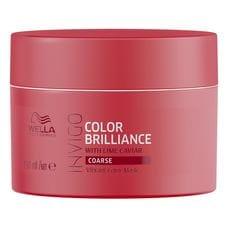 Маска-уход для защиты цвета окрашенных жестких волос - Wella Professional Invigo Color Brilliance 150 мл