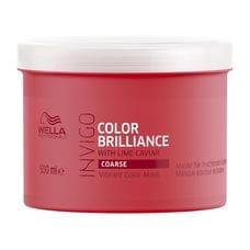 Маска-уход для защиты цвета окрашенных жестких волос - Wella Professional Invigo Color Brilliance 500 мл