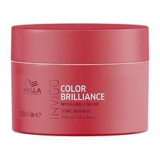 Маска-уход для защиты цвета окрашенных тонких и нормальных волос - Wella Professional Invigo Color Brilliance 150 мл