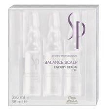 Энергетическая сыворотка против выпадения волос в ампулах - Wella System Professional Balance Scalp Energy Serum 6*6 мл