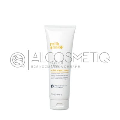 Активная йогуртовая маска для волос - Milk Shake active yogurt mask 250 мл