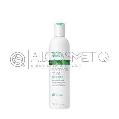 Кондиционер для волос с экстрактом мяты и ментола - Professional hair conditioner Milk Shake sensortial mint 300 мл