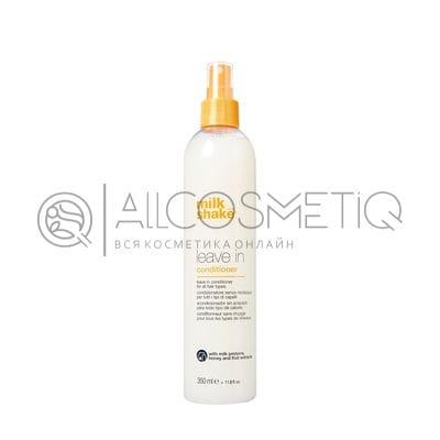 Несмываемый протеиновый увлажняющий кондиционер для волос - Milk Shake leave in conditioner 350 мл