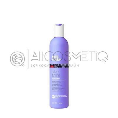 Пигментированный шампунь для осветленных и седых волос - Milk Shake silver shine 300 мл