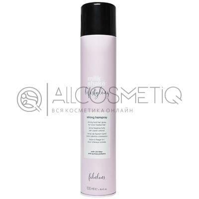 Лак для волос сильной фиксации - Milk Shake lifestyling open hairspray strong hold 500 мл