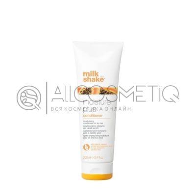 Кондиционер для сухих волос с экстрактом папайи и гиалуроновой кислотой - Professional hair conditioner Milk Shake moisture plus 250 мл
