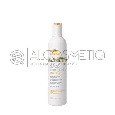 Кондиционер с экстрактом ромашки для блеска волос - Professional hair conditioner Milk Shake sweet camomile 300 мл